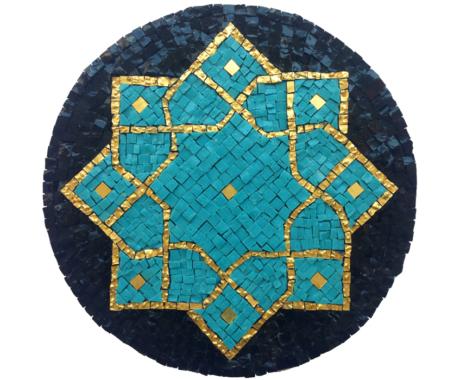 Persian cross mandala