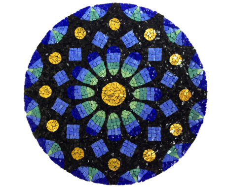Rose window mandala