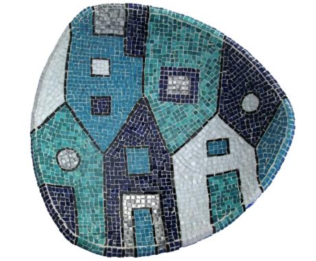 Mosaics house bowl