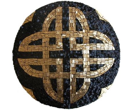 Celtic knot mandala